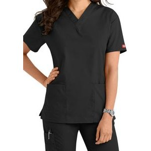 Dickies� Women's EDS Signature V-Neck Scrub Top